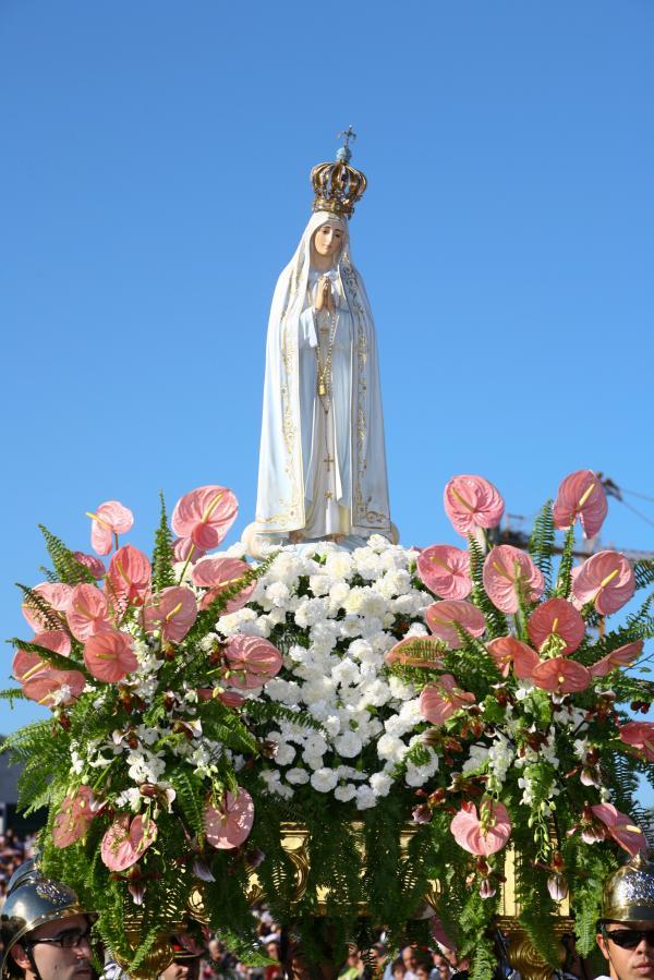 statua madonna fatima